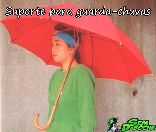 SUPORTE PARA GUARDA-CHUVAS