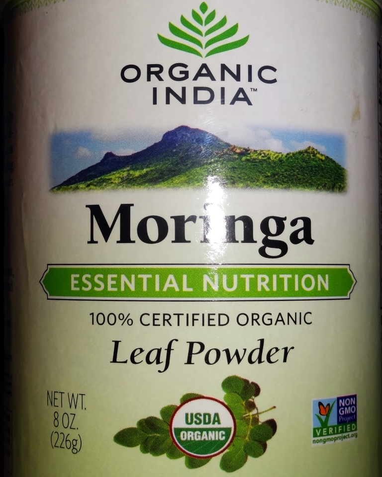 organic, superfood, Moringa, leaf powder