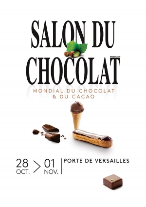 Le coq picore salon du chocolat 2017 for Porte de versailles salon du running