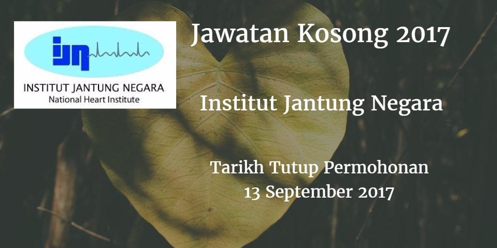 Jawatan Kosong IJN 13 September 2017
