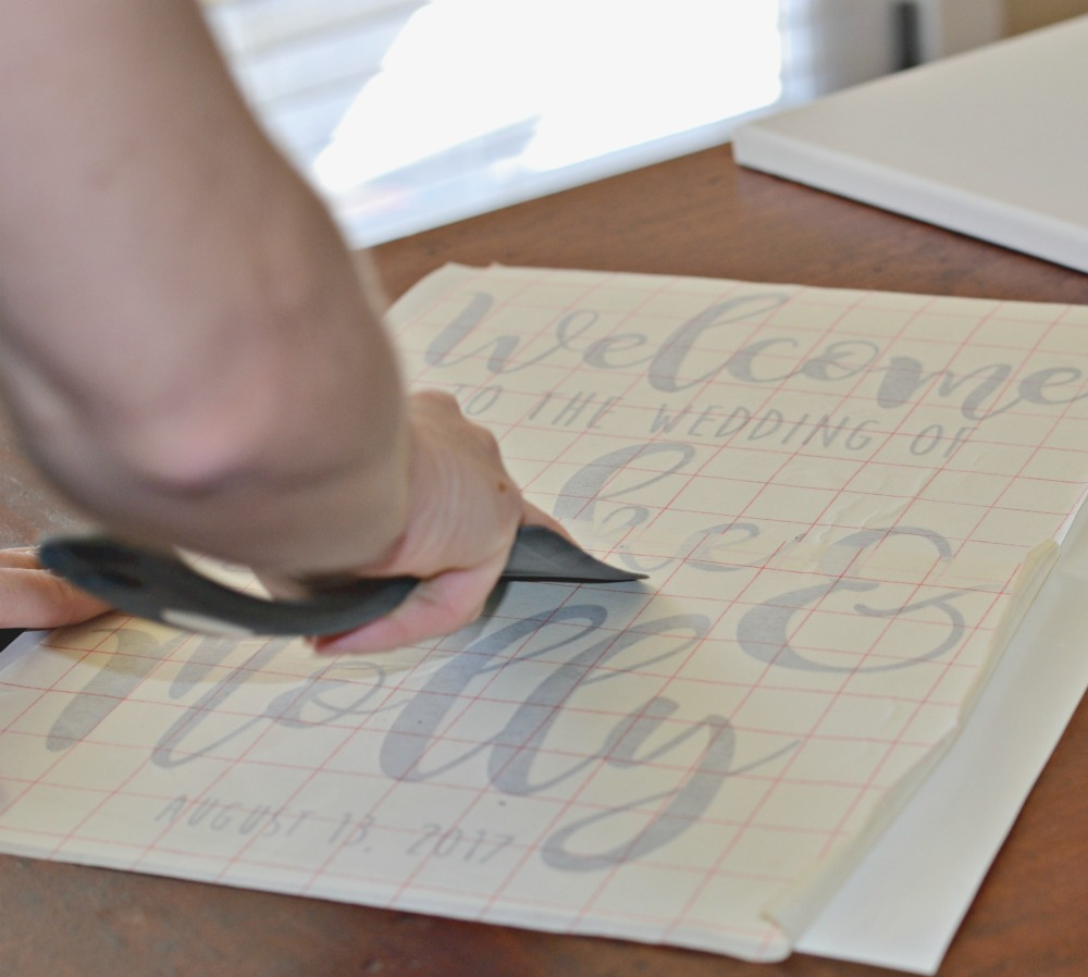 The Secret to Sticking Vinyl on A Canvas | <datFeata:blog title