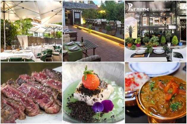 3 restaurantes con terraza para comer de rechupete en Madrid y alrededores