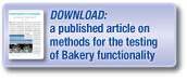 Assessing Bakery Functionality