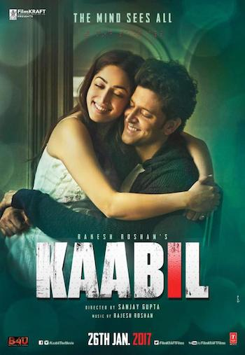 Free Download Kaabil 2017 Hindi    300MB