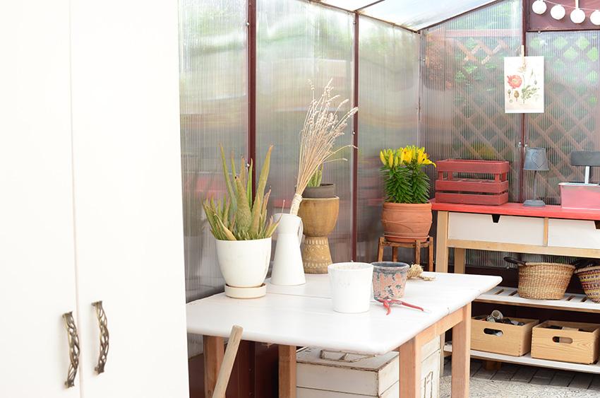 invernadero mobiliario