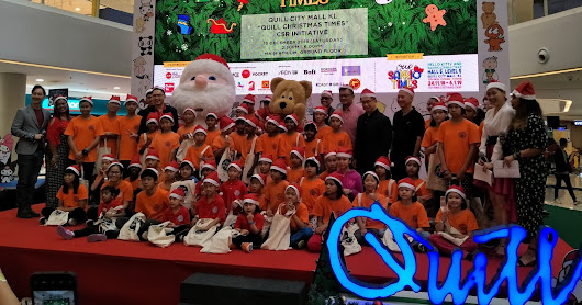 "Quill City Mall KL ""Quill Christmas Times"" CSR Initiative"