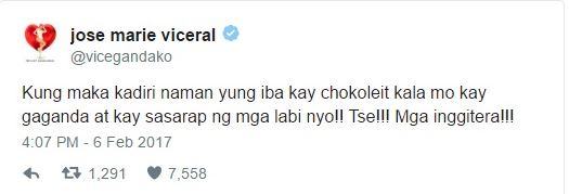 Vice Ganda Has Something To Say About Chokoleit's Kissing Video
