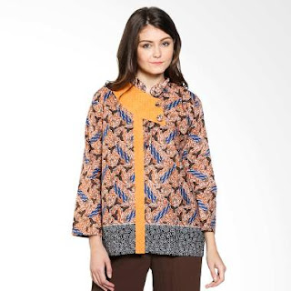Gambar Baju Batik Etnik Modern untuk Wanita