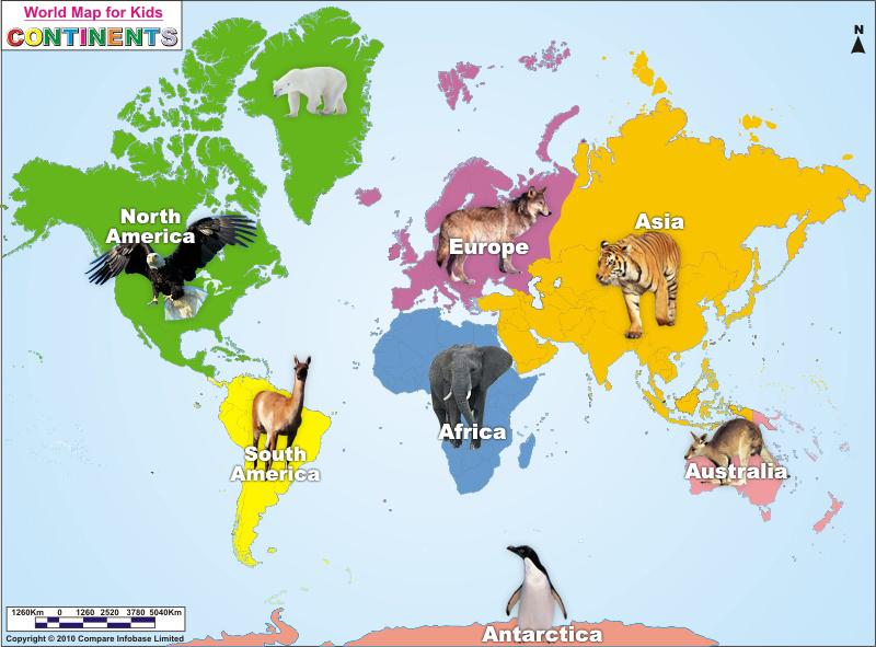 Political Map For Kids.Best Tourist Place In Uttarakhand India World Map World Tourist