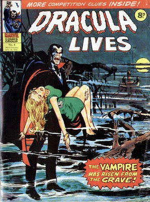 Dracula Lives #4, Marvel UK