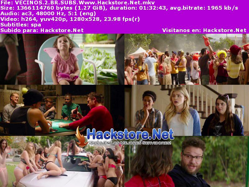 Capturas de Buenos Vecinos 2 (2016) Blu-Ray RIP HD Subtitulada