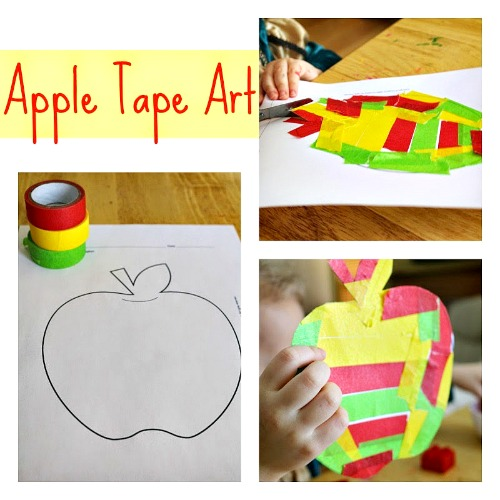 Ten Apples On Top Apple Craft