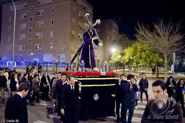Horario e Itinerario Via Crucis Nuestro Padre Jesús del Divino Perdón de Alcosa. Sevilla 30 de Marzo del 2019