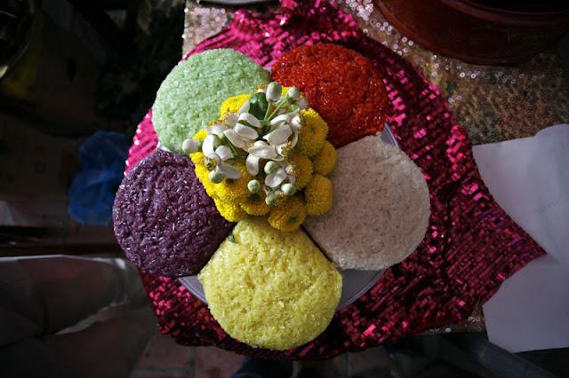 Five-color sticky rice 3