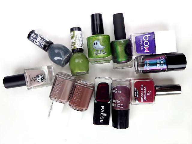 Najlepsze lakiery do paznokci na jesień