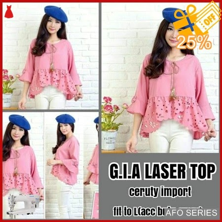 AFO510 Model Fashion Gia Laser Top Modis Murah BMGShop