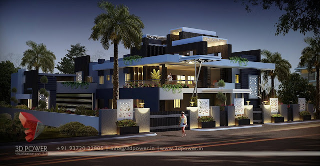 Exclusive Exterior design view