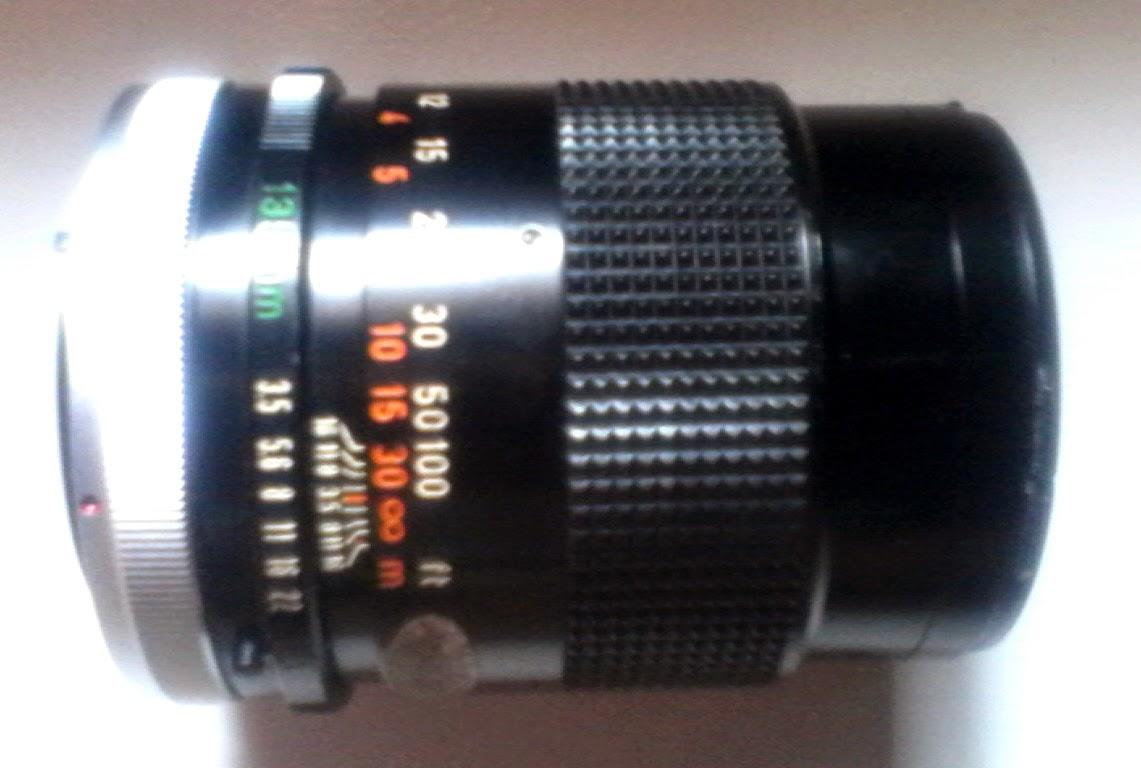 Canon 135mm f3.5 tengah