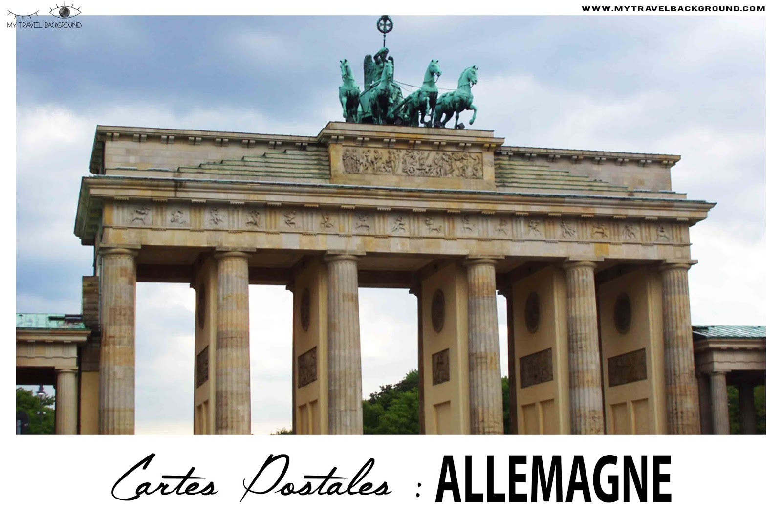 My Travel Background : Cartes Postale Allemagne