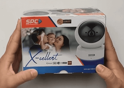 Setting IP camera SPC BABYCAM  X-CELENT 2MP 1080P