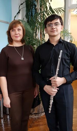 Воспитанник Детской музыкальной школы города Новочебоксарска Панов Даниил
