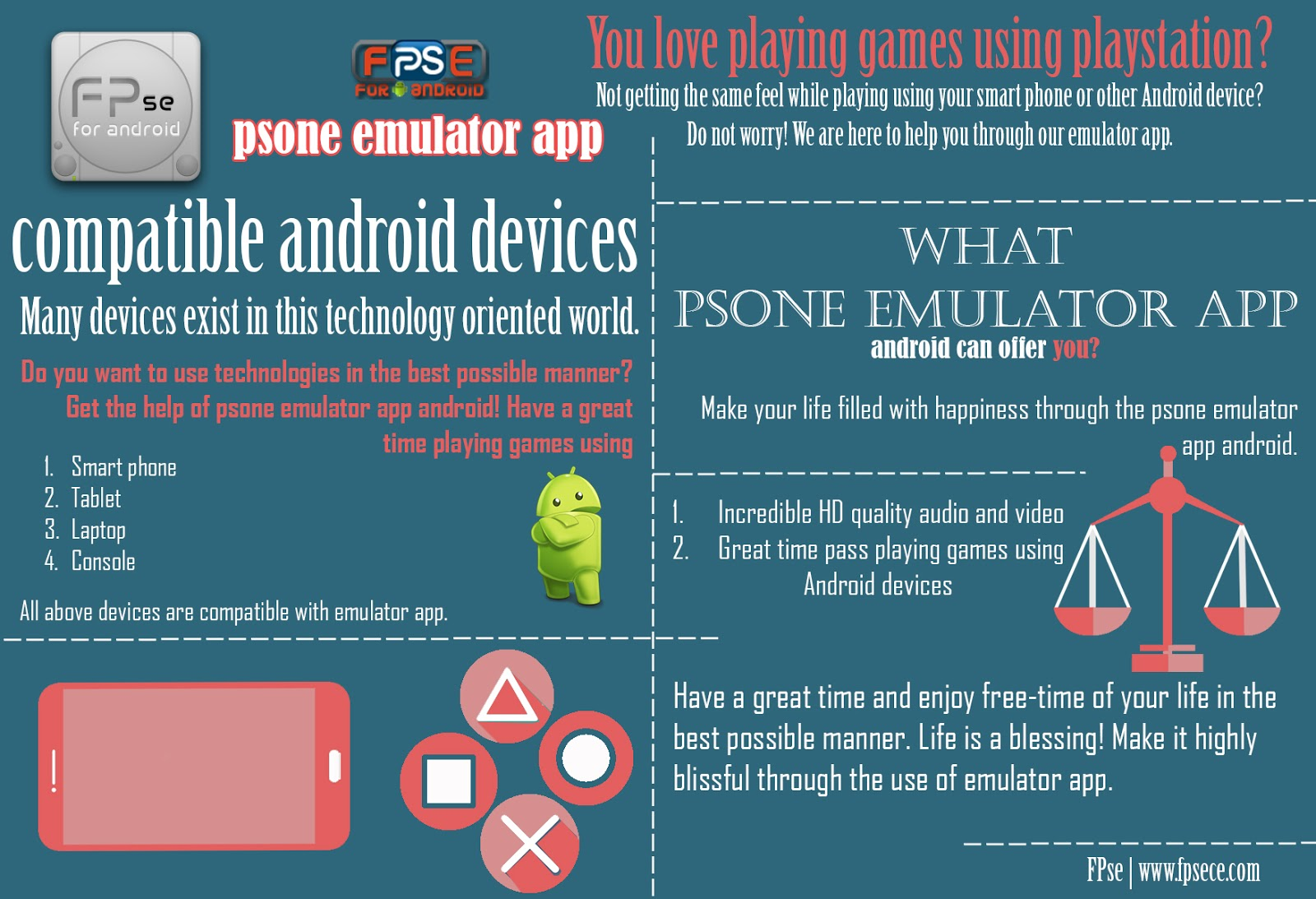 Psone in android