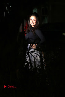 Actress Sonia Agarwal Stills in Black Top at Yevanavan Tamil Movie Audio Launch Event  0022.jpg