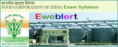 FCI Exam Syllabus
