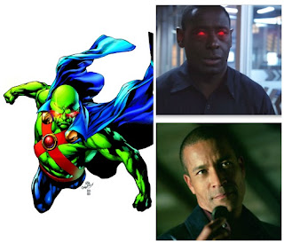 hank henshaw glowing red eyes martian manhunter phil morris smallville poster wallpaper image picture screensaver