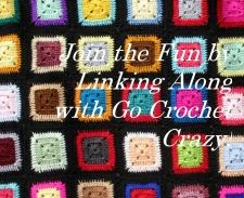 I joined the fun at the Go Crochet Crazy Link-a-Long