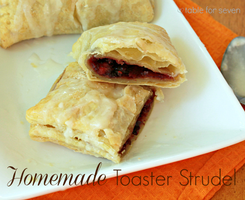 Homemade Toaster Strudel