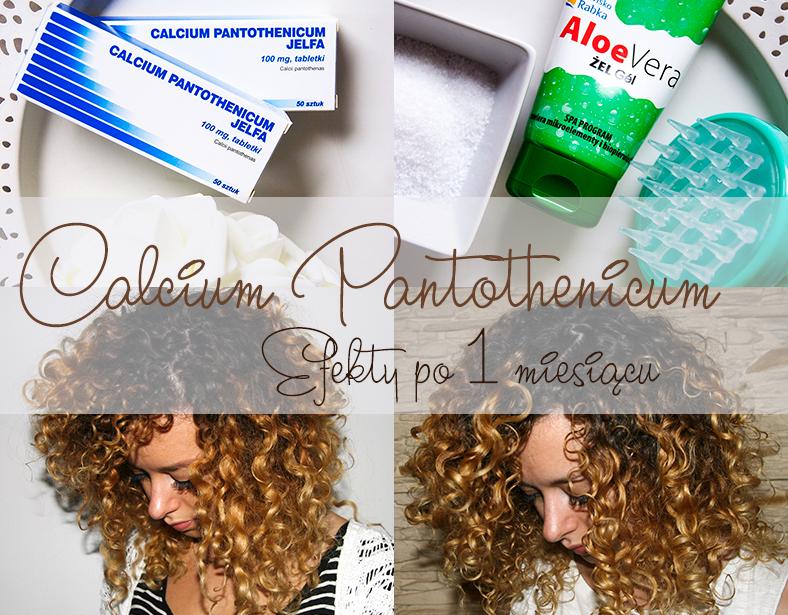 ZAPUSZCZAM WŁOSY! CALCIUM PANTOTHENICUM - EFEKTY PO 1 MIESIĄCU