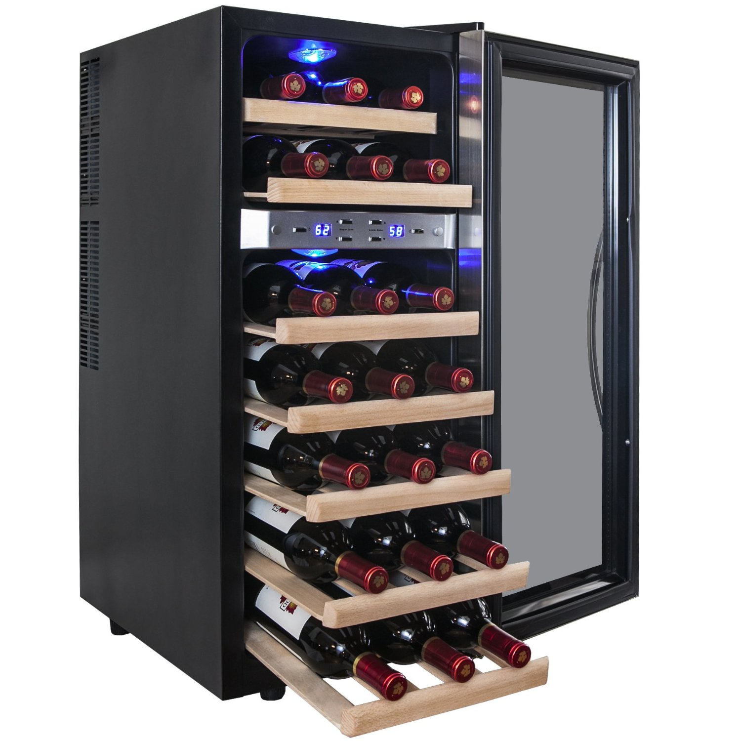 That Is Why The Best Wine Cooler Definitely Edgestar 18 Bottle Dual Zone Digital Control