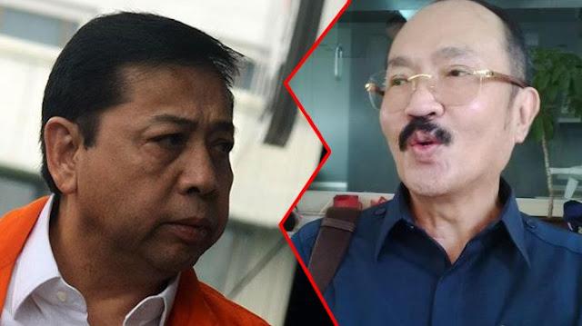 Cieee! Satu Sel Sama Setya Novanto, Pengacara Fredrich Yunadi Cuma Diem-dieman....
