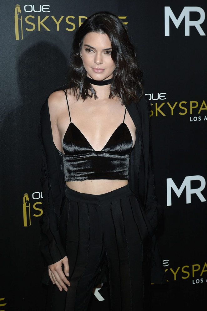 Kendall Jenner – Launch Of OUE Skyspace in LA