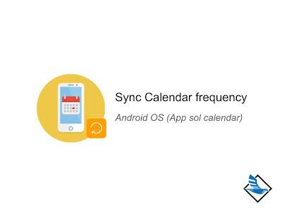 การตั้งค่าความถี่ในการ Sync ปฏิธิน ในมือถือแอนดรอย