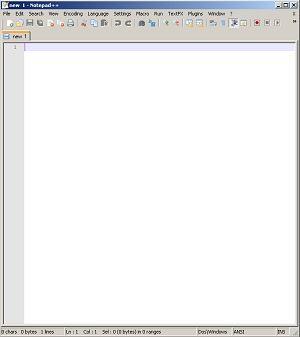 Notepad++ tehnomac