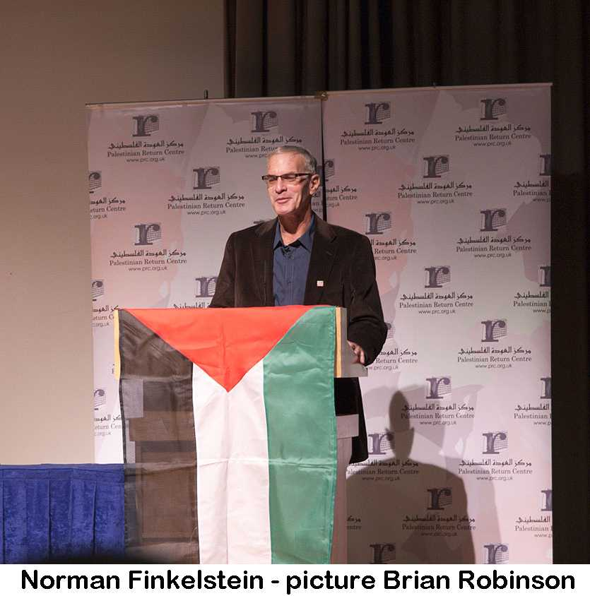 Tony Greenstein's Blog: Norman Finkelstein –A Wasted