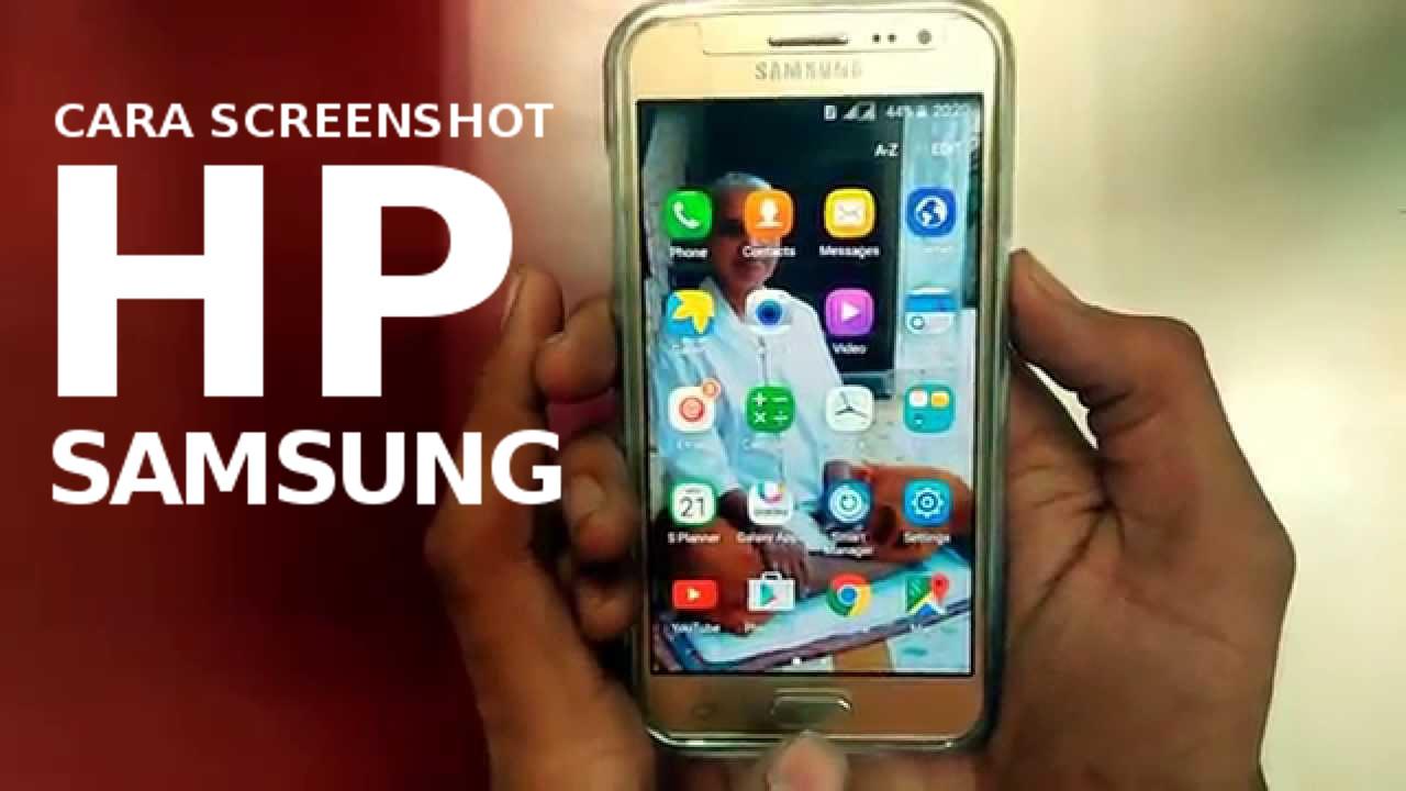 Cara Ambil Screenshot di HP Samsung Galaxy S7 active Tanpa