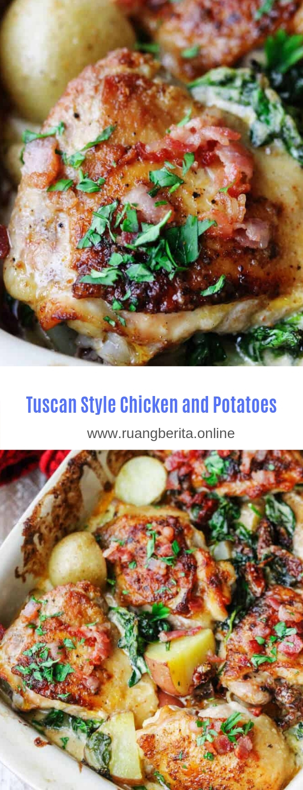 Tuscan Style Chicken and Potatoes