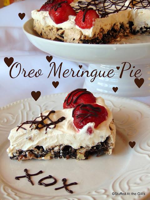 Oreo Meringue Pie