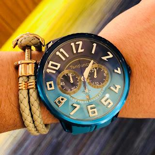 テンデンス De'color TENDENCE TY146101 OCEAN Safari 時計 日本限定