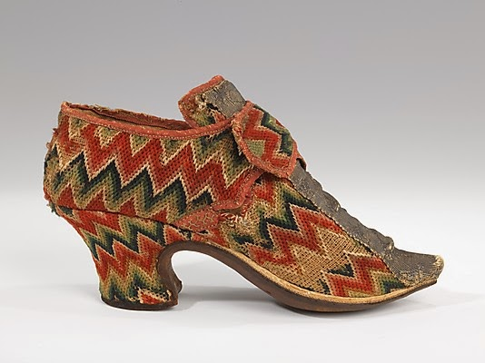 b8bb1ccad4fb2 SilkDamask : Shoes and The Enduring Flame Stitch