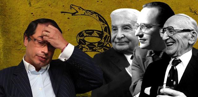 Gustavo Petro y su incoherencia al declararse libertario