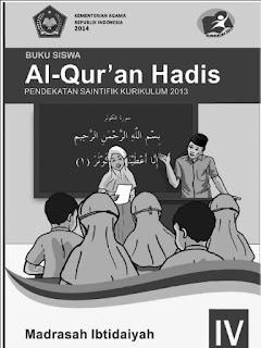 Al-Qur'an Hadis Buku Siswa Kelas 4 Kurikulum 2013 Revisi