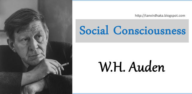Auden's Social Consciousness