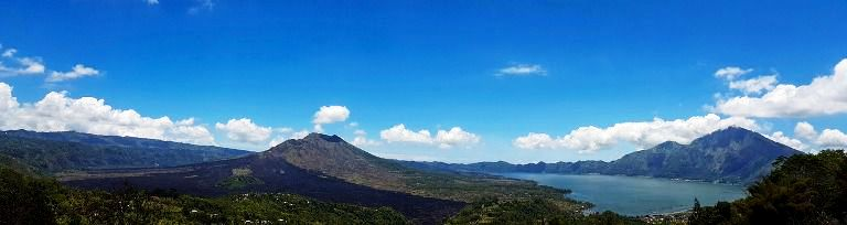 Kintamani Bali Volcano Lake Batur Tourist Destination (Spot) - Tourist, Objects, Attractions, Places, Areas, Destinations, Spots, Regions, Bali, Penelokan, Batur, Kintamani, Volcano, Mountain, Lake, Attractions