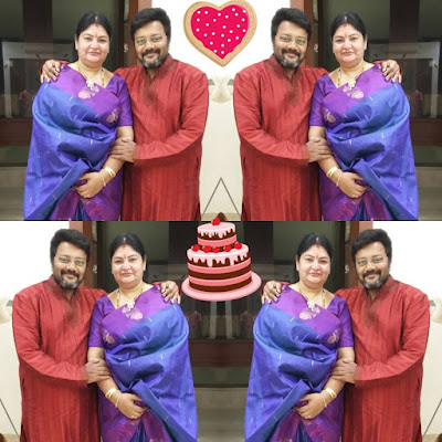 Saikumar  with wife Surekha
