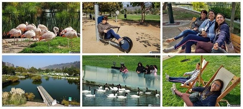 Parque Bicentenário em Santiago - Diário de Bordo Chile: 8 dias em Santiago e arredores