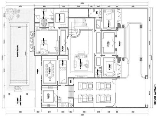 Image Result For Gambar Rumah Mewah Dengan Kolam Renang